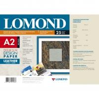 LOMOND 0917023 бумага матовая кожа Premium для струйной печати А2 (420 х 594) 230 г/м2, 25 листов