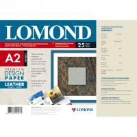 LOMOND 0918023 бумага глянцевая кожа Premium для струйной печати А2 (420 х 594) 230 г/м2, 25 листов