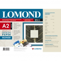 LOMOND 0936123 бумага глянцевая Био макро Premium для струйной печати А2 (420 х 594) 230 г/м2, 25 листов