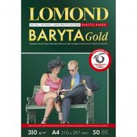 LOMOND 1100201 фотобумага баритовая сатин односторонняя А4, 310 г/м2, 20 листов