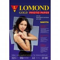 LOMOND 1100203 бумага сатин односторонняя баритовая для струйной печати А3+(329 х 483) 325 г/м2, 20 листов