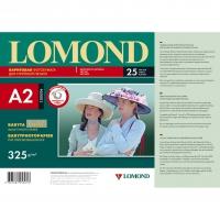 LOMOND 1100204 бумага односторонняя баритовая сатин для струйной печати А2 (420 х 594) 325 г/м2, 25 листов