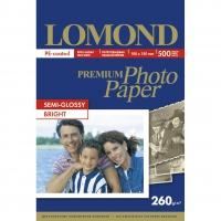 LOMOND 1103303 фотобумага полуглянцевая А6 (10 х 15 см) 260 г/м2, 500 листов