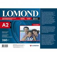 LOMOND 1103307 фотобумага полуглянцевая для струйной печати А2 (420 х 594) 260 г/м2, 25 листов