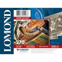 LOMOND 1106103 фотобумага суперглянцевая А6 (10 х 15 см) 270 г/м2, 500 листов
