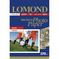 LOMOND 1106201 фотобумага сатин А6 (10 х15 см) 270 г/м2, 20 листов