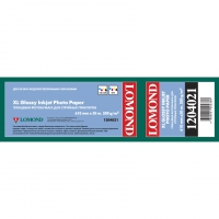 LOMOND 1204021 бумага глянцевая А1 (610 x 50,8 мм) 200 г/м2, 30 метров, ролик