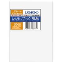 LOMOND 1301128 плёнка матовая 100 х 146 мм, 150 мкм, 25 пакетов (50 листов)