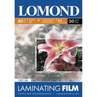 LOMOND 1301136 плёнка матовая А5 (154 х 216 мм) 80 мкм, 50 пакетов (100 листов)