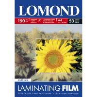 LOMOND 1302143 плёнка глянцева А4 (218 х 305 мм) 150 мкм, 50 пакетов (100 листов)
