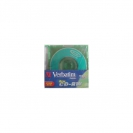 VERBATIM Mini CD-RW 210 Мб 8 см диск 2x-4x Colour Slim Case 5 шт, 43245