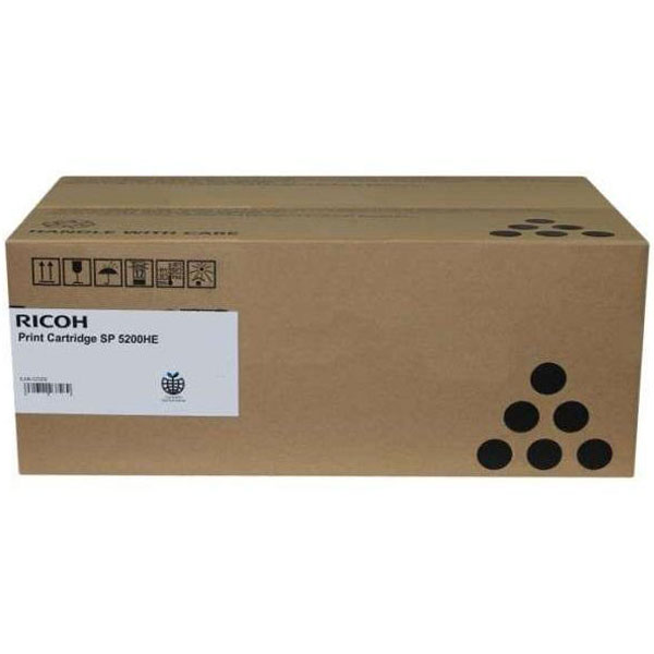 RICOH SP 5200HE тонер-картридж для Aficio SP 5200S, 5210SF, 5210SR, SP 5200DN, 5210DN (25 000 стр.)