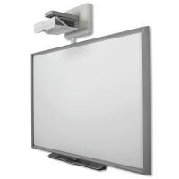 """SMART Board X880 интерактивная доска 78"""" дюймов с проектором SMART U100 и расширенной панелью управления ECP"""