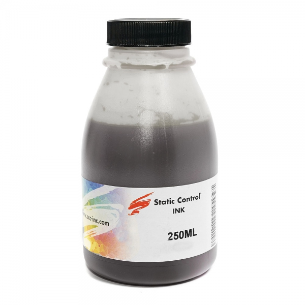 Чернила для CANON INK028PK-250ML, STATIC CONTROL (Pigment Black, 250 мл)