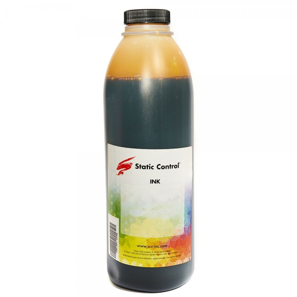 Чернила для HP INK019PY-900ML, STATIC CONTROL (Pigment Yellow, 900 мл)