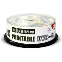 MIREX DVD-R диск 16x 3D-Printable Inkjet Cake Box 25 шт, UL130128А1M