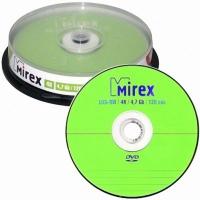 Диск DVD-RW MIREX, 4x (10 шт.) Cake Box, UL130032A4L