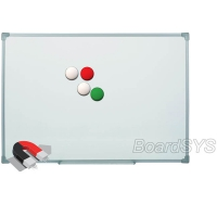 Доска магнитно-маркерная BoardSYS 1 элементная 100 х 300 см, металлический профиль