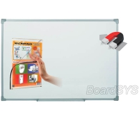 Доска магнитно-маркерная BoardSYS 1 элементная 60 х 50 см, алюминиевый профиль