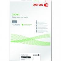 XEROX 003R97344 бумага самоклеющаяся полимерная для цветной лазерной печати А4, 240 г/м2, (наклейка 178 мкм) 50 листов
