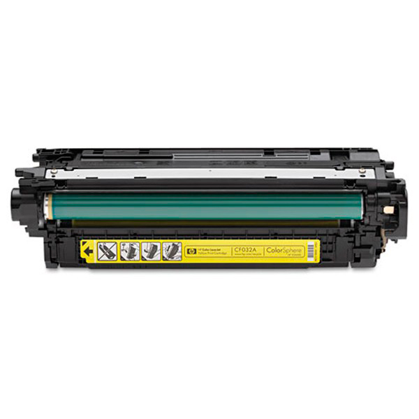 HP 646A, CF032A картридж жёлтый для Color LaserJet Enterprise CM4540 (12 500 стр)