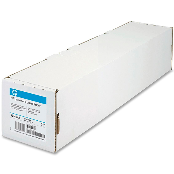 "HP Universal Coated Paper (Q1404A) бумага 24"" (610 мм) 95 г/м2, 45,7 метра"