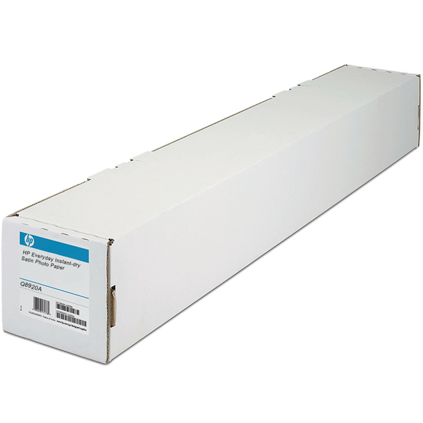"HP Everyday Pigment Ink Satin Photo Paper (Q8920A) бумага 24"" (610 мм) 235 г/м2, 30,5 метра"