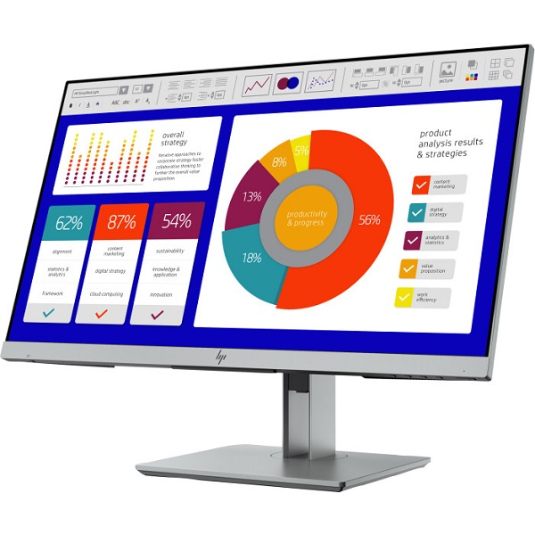 HP EliteDisplay E243p LED 23,8'' монитор 5FT13AA