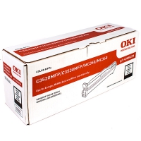 OKI C3520 MFP, C3530 MFP, MC350, MC360 фотобарабан Black (чёрный, 15 000 стр)