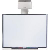 """SMART SBM680 интерактивная доска 78"""" дюймов с проектором U100 и электронным лотком ECP"""
