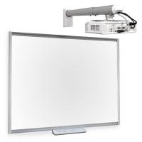 "SMART Board SBM680 интерактивная доска 78"" дюймов с проектором V30 без лотка"