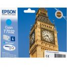 EPSON C13T70324010 картридж голубой для WorkForce Pro WP-4015DN, WP-4025DW, WP-4095DN, WP-4515DN, WP-4525DNF, WP-4535DWF, WP-4595DNF (9,6 мл)