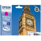EPSON C13T70334010 картридж пурпурный для WorkForce Pro WP-4015DN, WP-4025DW, WP-4095DN, WP-4515DN, WP-4525DNF, WP-4535DWF, WP-4595DNF (9,6 мл)
