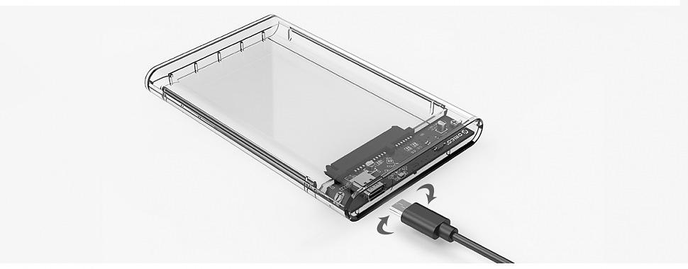 Контейнер ORICO 2139U3-CR поддержка USB Type-C