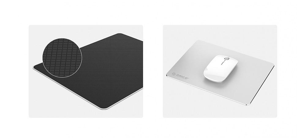 Ультратонкий алюминиевый коврик для мыши ORICO AMP2218