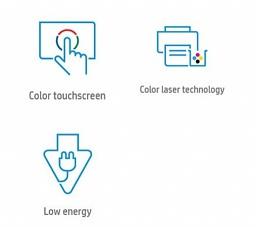 Основные преимущества МФУ HP Color LaserJet Enterprise M577dn