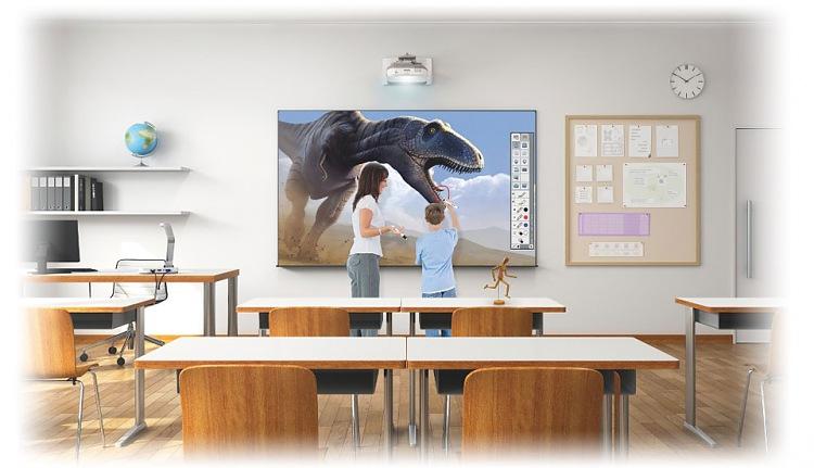 Epson EB-685Wi ультракороткофокусный проектор для образования