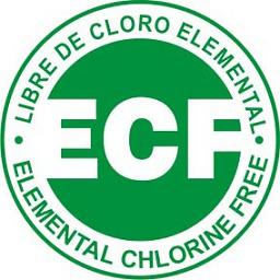 ECF (Elemental Chlorine Free) – отбелка без использования элементарного хлора