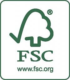 FSC ® Certified - цепь поставок древесного сырья сертифицирована по FSC
