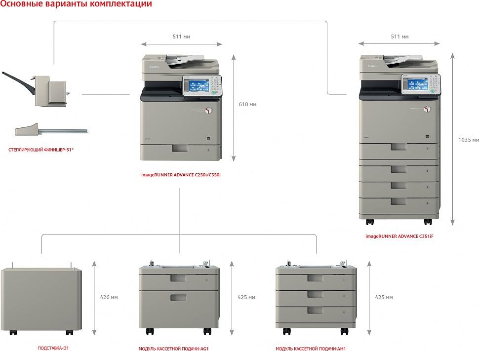 CANON imageRUNNER ADVANCE C350i МФУ лазерное цветное